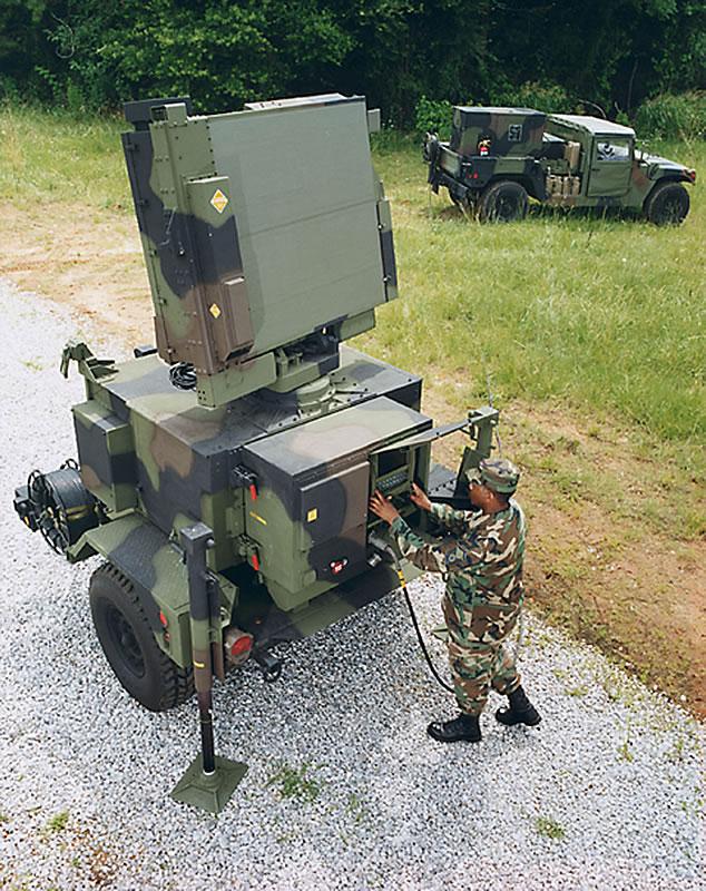 AN-MPQ-64 Sentinel Radar
