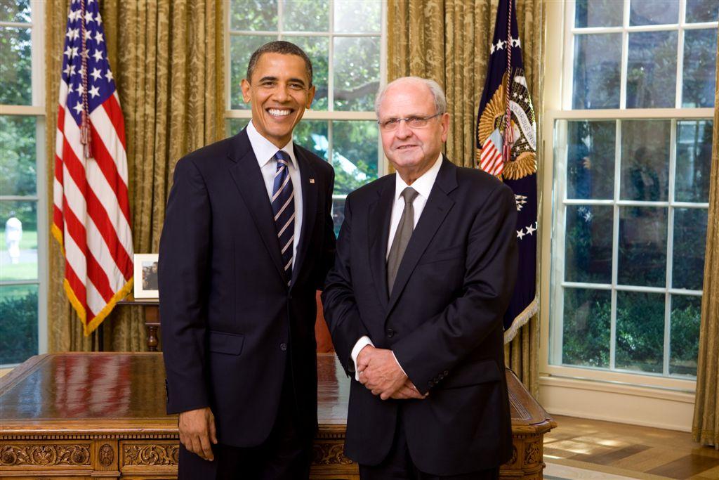 President Barack Obama and Ambassador Mike Moore
