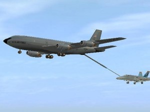 KC-135 tanker aircraft
