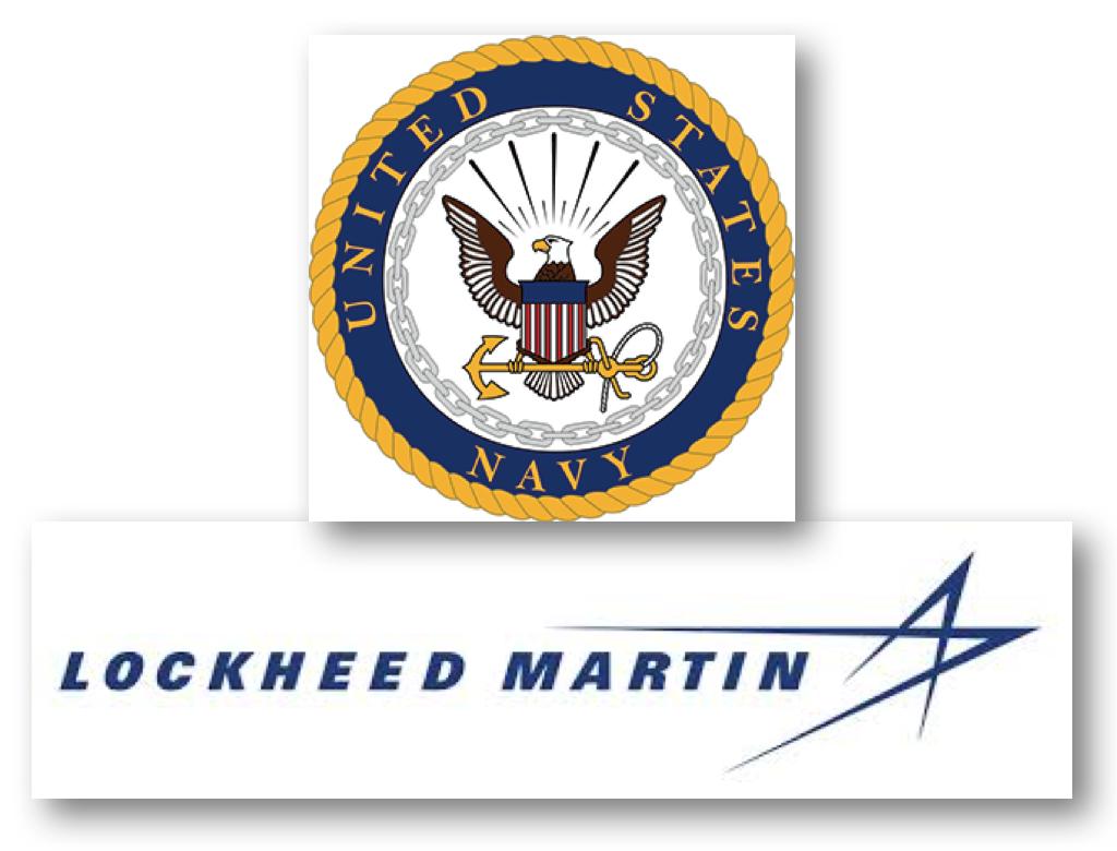 Image result for us navy lockheed martin logo